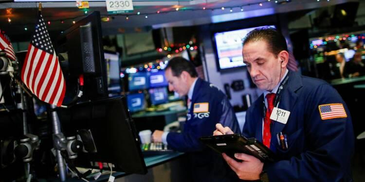Wall Street se redresse en fin de séance
