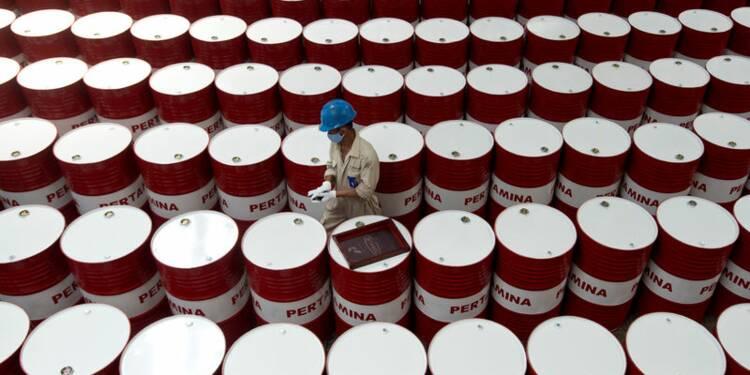 Le pétrole termine la journée en hausse mais recule sur l'année