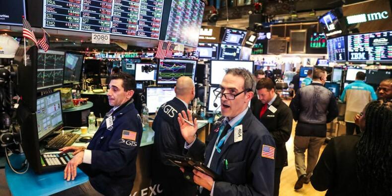 Wall Street en nette baisse pour débuter l'année 2019