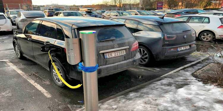 Près d'une voiture neuve sur trois en Norvège est électrique
