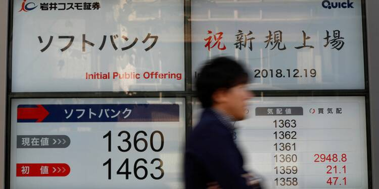 Le Nikkei chute de 2,26% pour sa première séance en 2019
