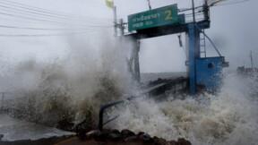 Tempête en Thaïlande: inondations et pannes de courant, les îles touristiques épargnées