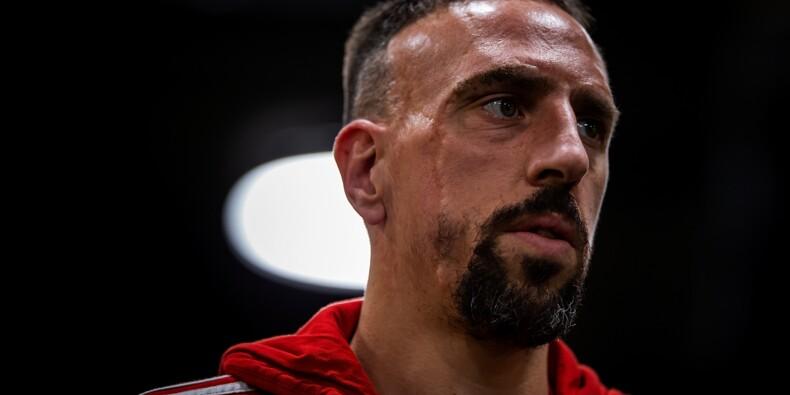 À Dubaï, Franck Ribéry s'offre une entrecôte en or