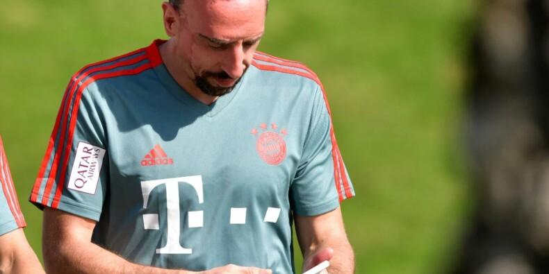Entrecôte en or : le Bayern n'a pas du tout apprécié la réponse de Franck Ribéry
