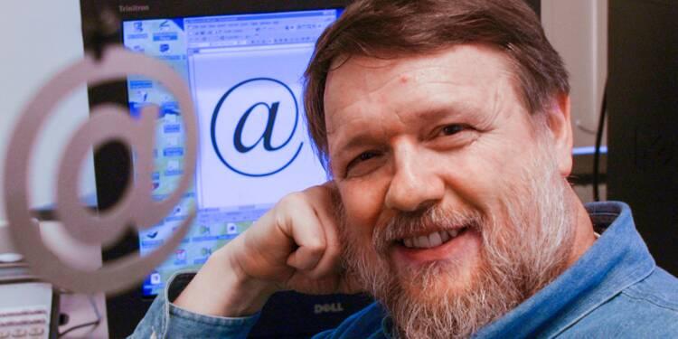L'homme qui vous a rendu addict aux e-mails, c'est lui