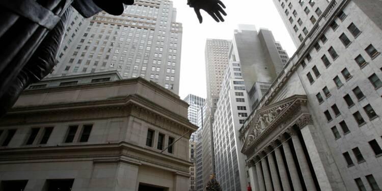 Wall Street finit en hausse, le Dow gagne 0,5%