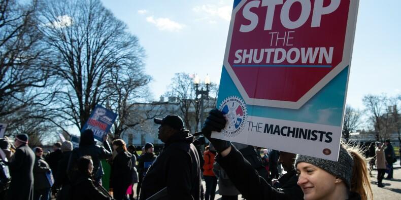 """Pour Trump, le """"shutdown"""" historique pourrait être réglé en 15 minutes"""