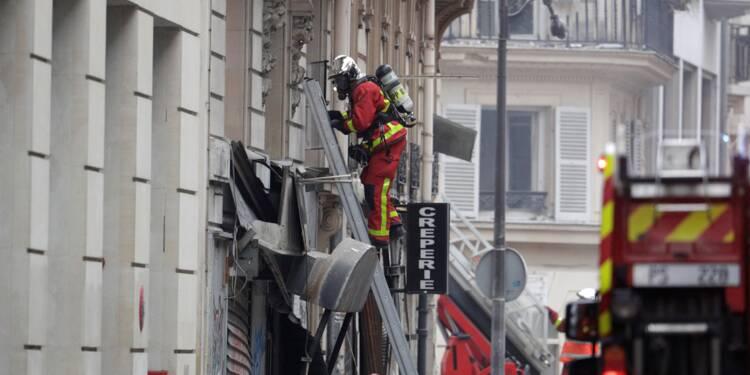 Explosion à Paris: six immeubles menacés d'effondrement, selon la mairie