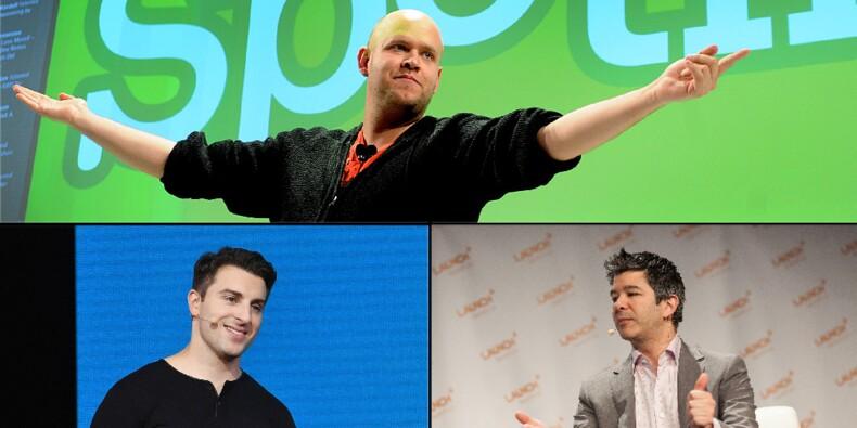 Airbnb, Uber, Spotify... comment leurs fondateurs ont imposé leur loi