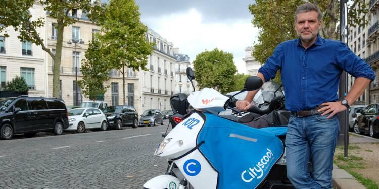 Avec ses scooters, Cityscoot a déjà conquis 100.000 utilisateurs ...