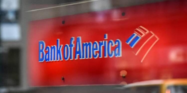 Bank of America fait mieux que prévu au 4e trimestre, le titre monte