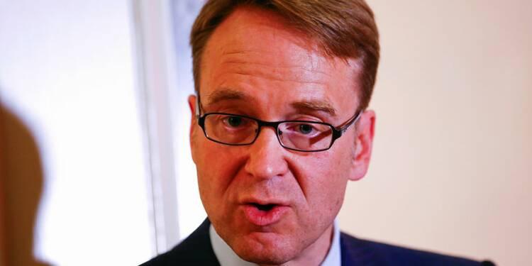 Berlin souhaite que Weidmann reste à la tête de la Bundesbank