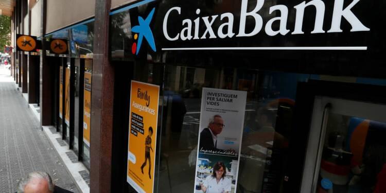 Caixabank propose de supprimer plus de 2.000 emplois