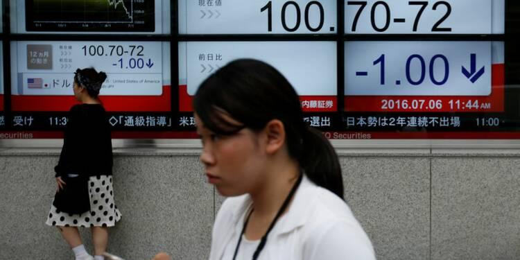 Tokyo finit en baisse de 0,2% après des prises de profits