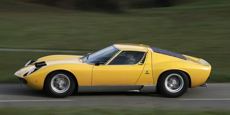 Tarbes : une Lamborghini Miura vendue à prix d'or aux enchères