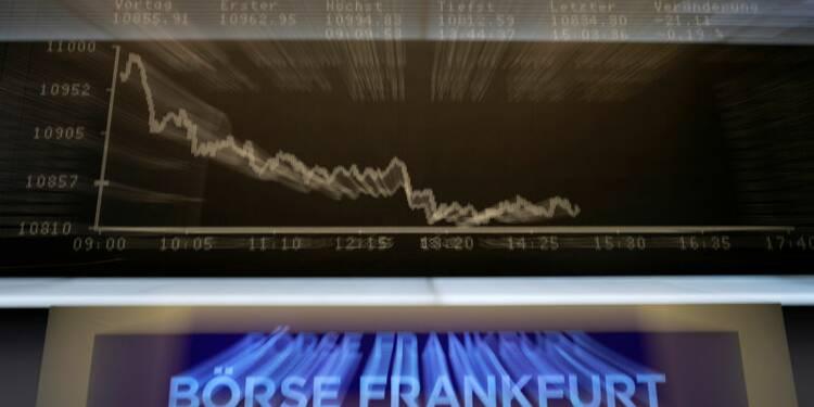 Morosité en Europe, Wall Street attendue en baisse