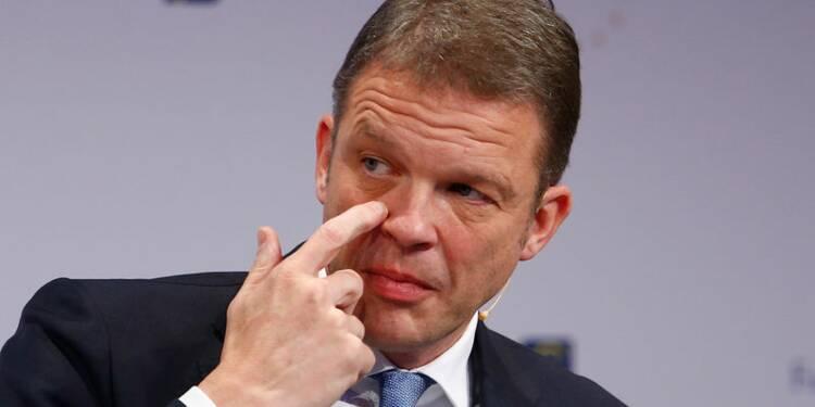 Le patron de Deutsche Bank ne pense pas à une fusion