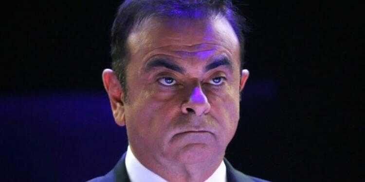 Ghosn a démissionné de la présidence de Renault, annonce Le Maire