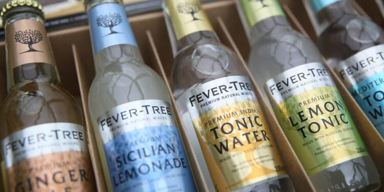 Le gin chic fait bondir les ventes du britannique Fevertree