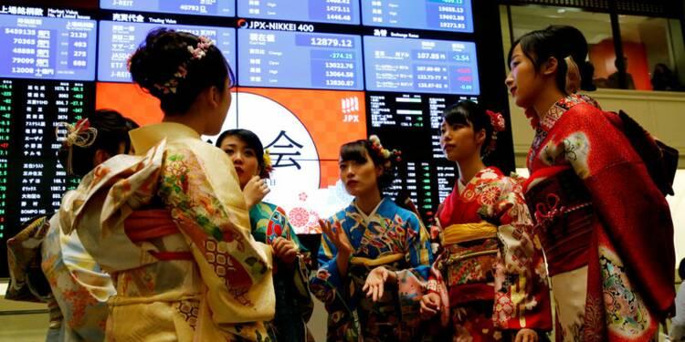 Le Nikkei à Tokyo finit en baisse de 0,60%
