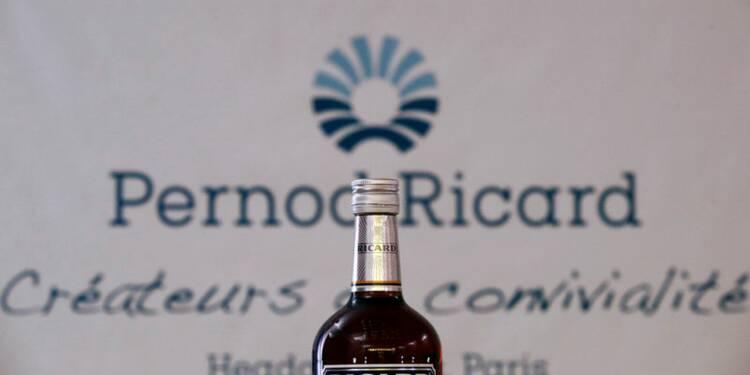 Pernod Ricard fait des stocks des deux côtés du Channel