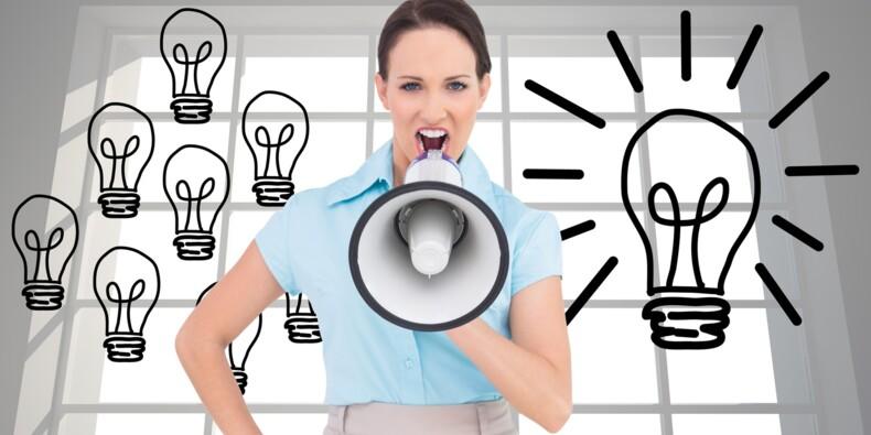 Une bonne idée au boulot ? Exprimez-là à voix haute !