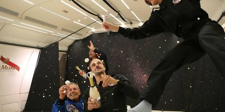Mumm Stellar : le champagne des touristes de l'espace