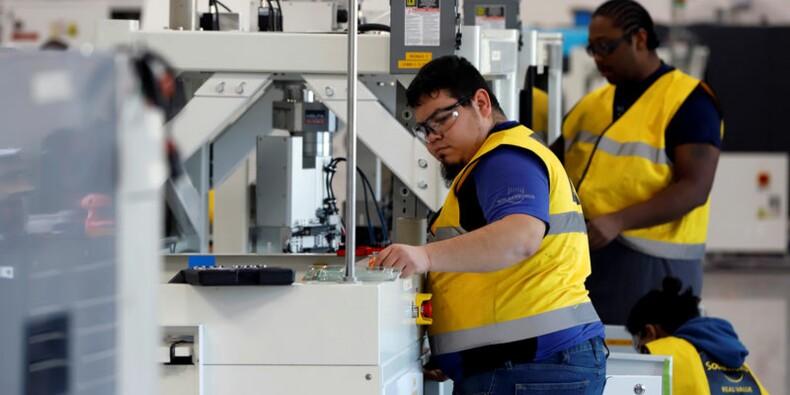 USA: L'indice ISM manufacturier en nette hausse en janvier