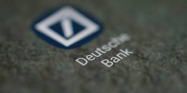 Deutsche Bank en bénéfice sur l'exercice après un quatrième trimestre encore fragile