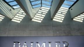 Daimler réduit son dividende avec le recul de son bénéfice