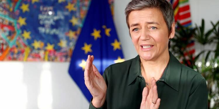 Vestager s'exprimera vers 10h45 GMT sur deux projets de fusion