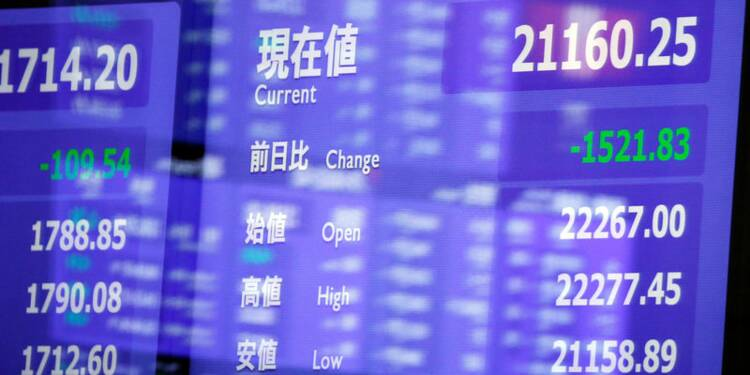 Tokyo a perdu 0,6% malgré les annonces bien accueillies SoftBank
