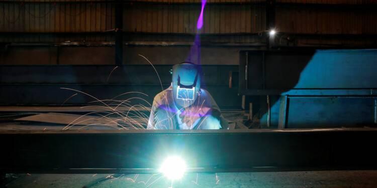 Net rebond de la production industrielle en décembre