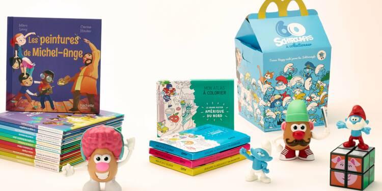 McDonald's, premier distributeur de jouets et de livres en France