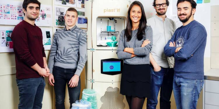 Avec Plast'if, cette entrepreneuse incite les salariés à recycler