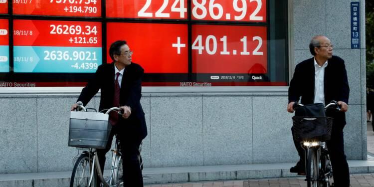 Rebond de l'économie japonaise au quatrième trimestre conforme au consensus
