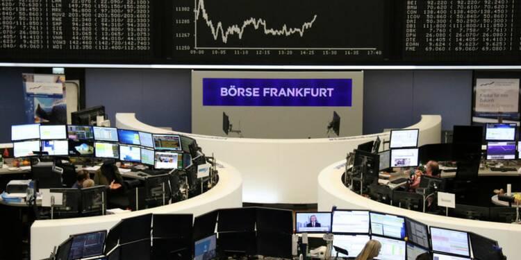Les actions en Europe reculent un peu sous un ciel contrasté