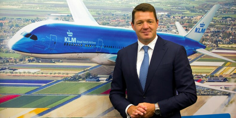Pieter Elbers reconduit à la tête de KLM