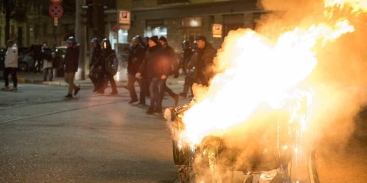 Réveillon du 31 décembre : la ville où il fallait payer pour mettre le feu aux poubelles
