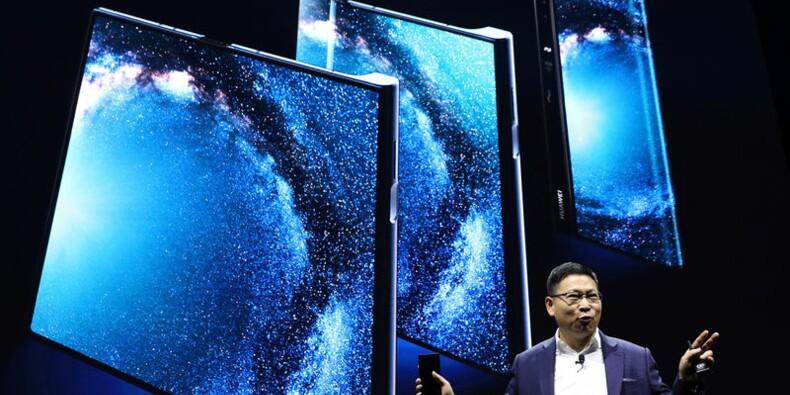 Huawei dévoile son smartphone pliable qui sera vendu 2.600 dollars