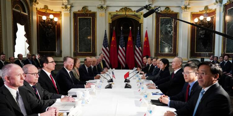 Commerce: Etats-Unis et Chine proches d'un accord