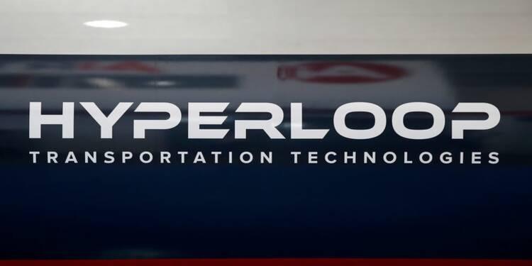 La première piste d'essai HyperloopTT assemblée