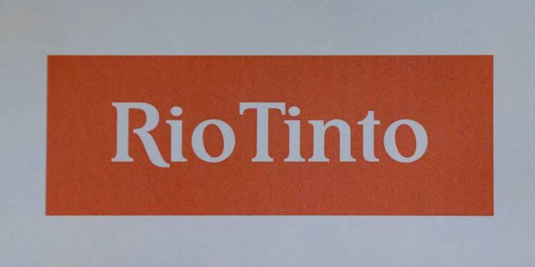 Le bénéfice 2018 de Rio Tinto supérieur aux attentes