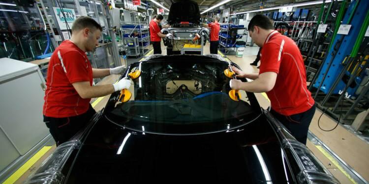 L'activité industrielle dans la zone euro se contracte
