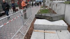 Strasbourg: la stèle de l'ancienne synagogue vandalisée, indignation unanime
