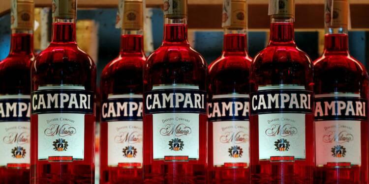 La croissance des ventes de Campari ralentit au quatrième trimestre