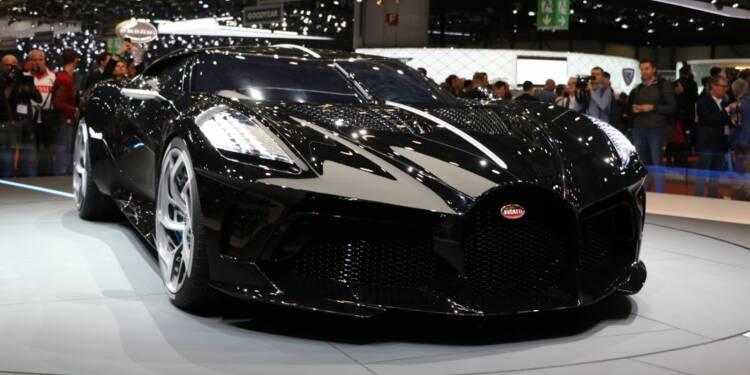 Bugatti dévoile la voiture la plus chère du monde