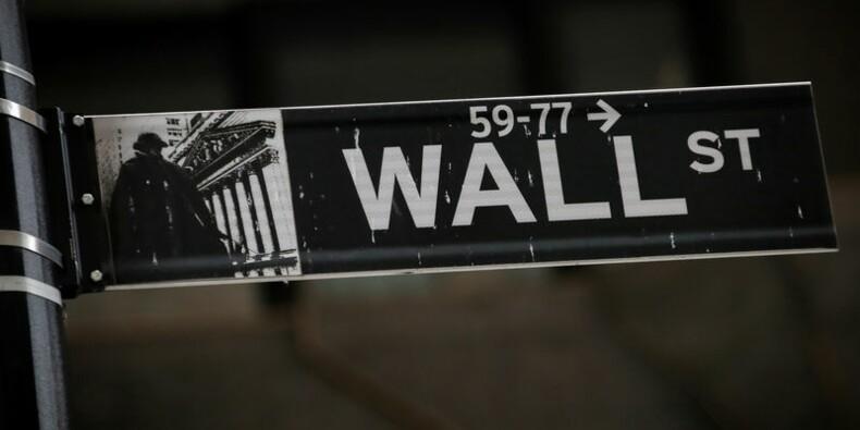 Quatrième séance de baisse à Wall Street, alarmée par la BCE