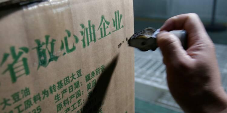 Chine: Plus fort recul des exportations en trois ans