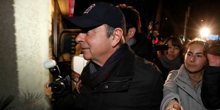 Carlos Ghosn ne pourra pas participer au conseil de Nissan